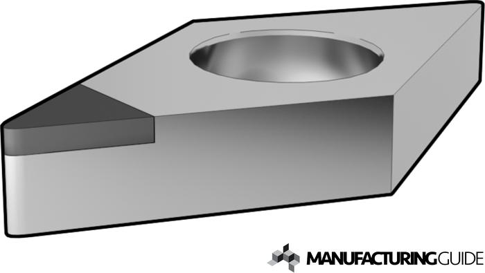 Illustration of Polycrystalline diamond Cutting tool