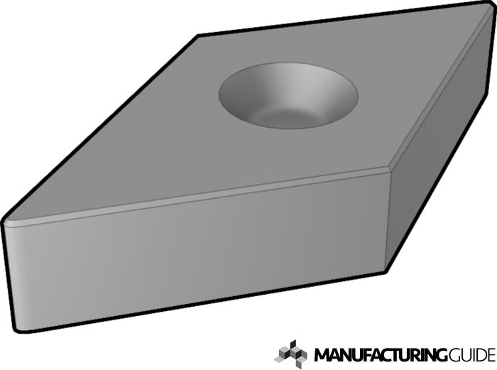 Illustration of Ceramic cutting tool