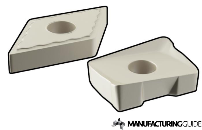 Illustration of Cermet cutting tool