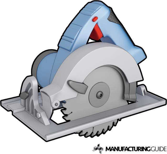 Illustration av Cirkelsåg