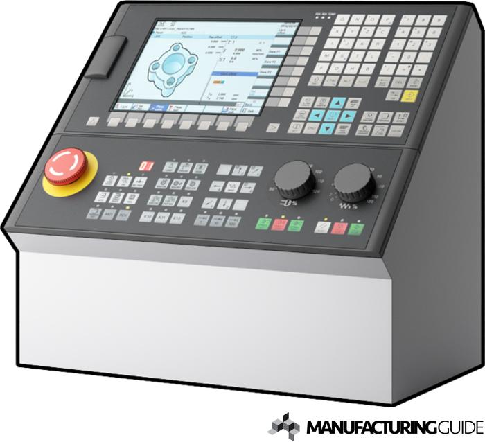 Illustration av Kontrollpanel