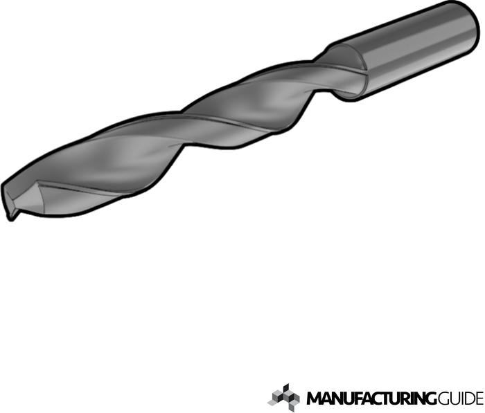 Illustration of Twist drilling