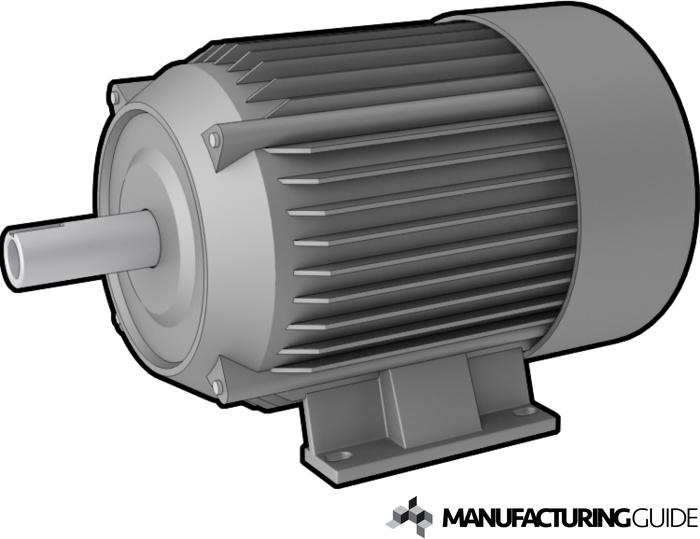 Illustration av Elektrisk drivning