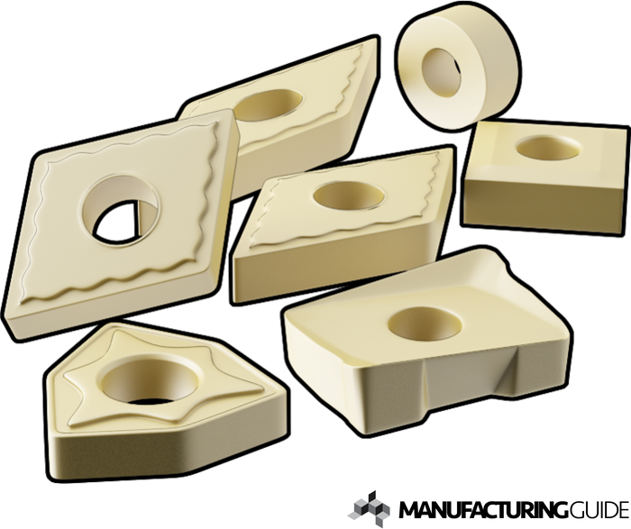 Illustration of Cemented Carbide cutting tool