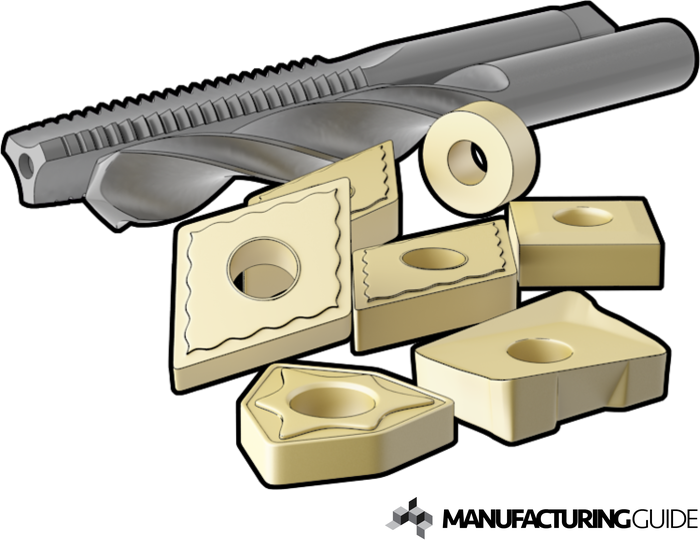 Illustration of Cutting tools of Cemented Carbide