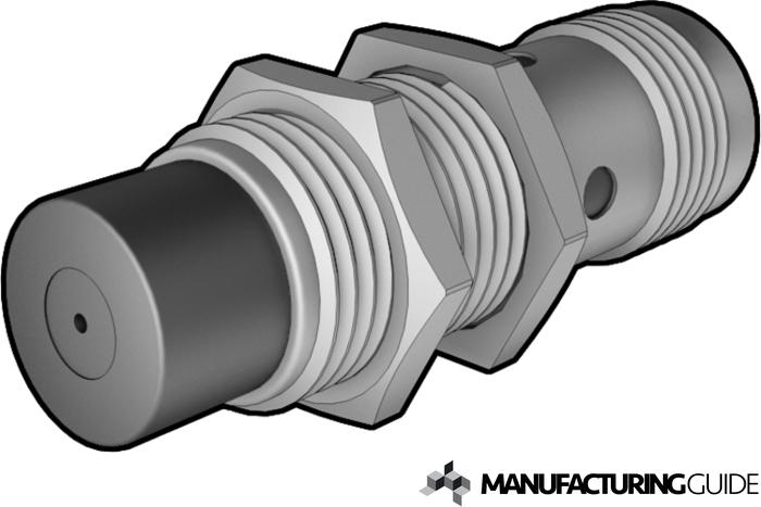 Illustration av Induktiv sensor