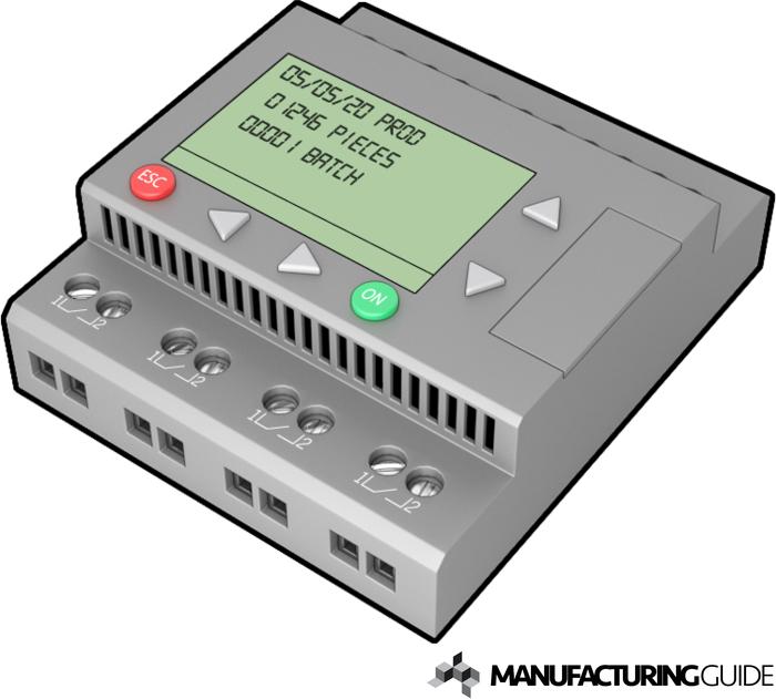 Illustration av PLC