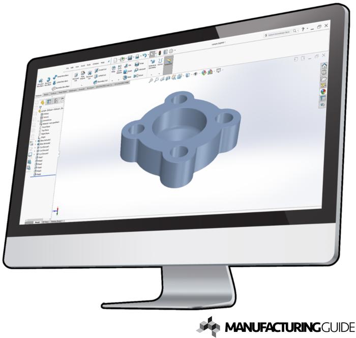Illustration av CAD