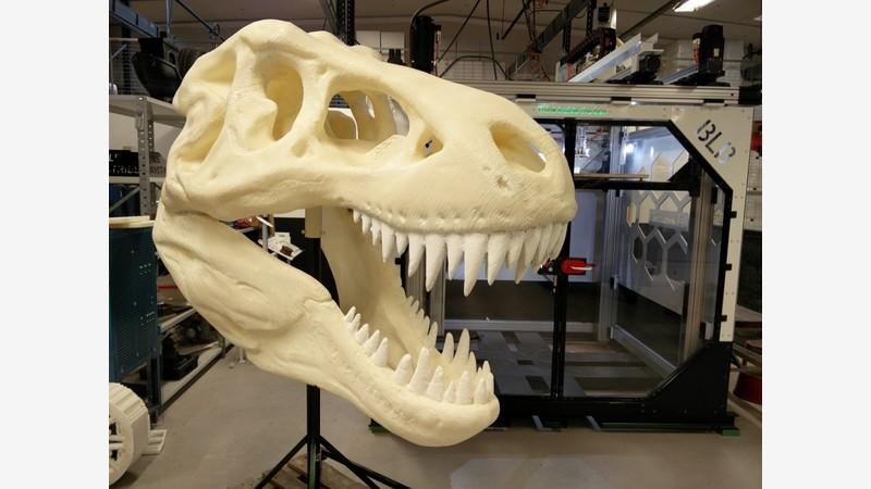 T-rex huvud